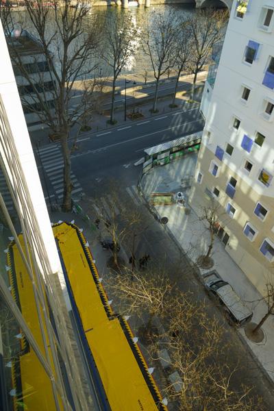 ochrona przeciwpowodziowa na obrzeżach Sekwany, Paryż