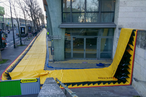 ochrona przeciwpowodziowa natixis Paris seine