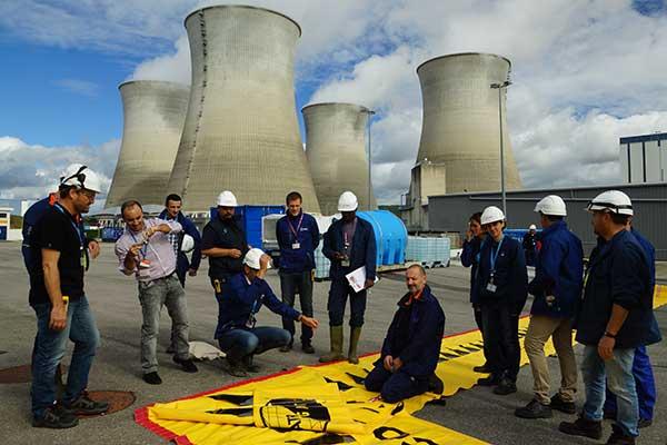 Szkolenie EDF w zakresie ochrony przeciwpowodziowej