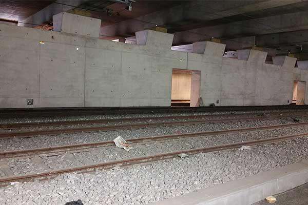 Zapora przeciwpowodziowa RER C SNCF