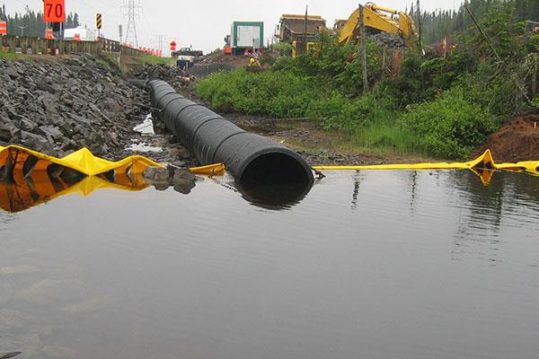 koferdamy i kanalizacja rzeki