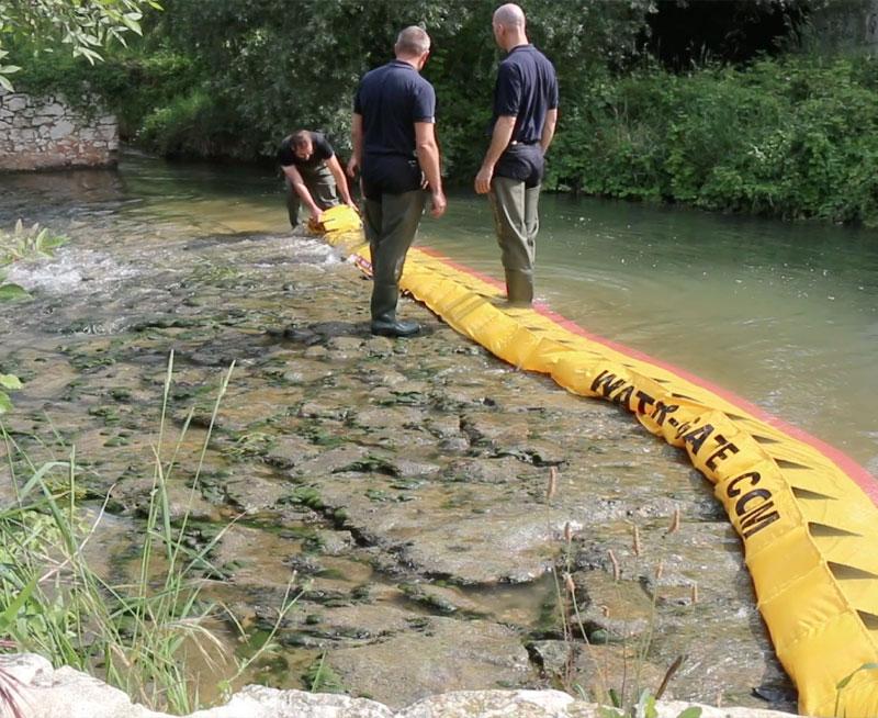 Jak wysuszyć próg rzeki w 3 minuty!