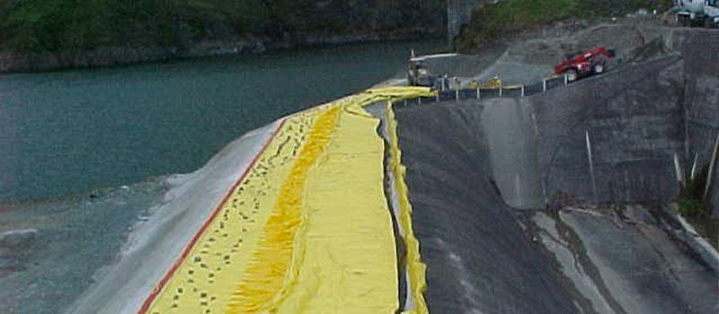 Fortuna Dam | Panama | Podniesienie przelewu hydroelektrycznego.